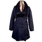 KADOYA Arrange Boa Neck Coat