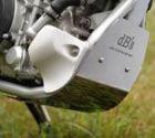 dB's チタンアンダーガード 焼き色なし