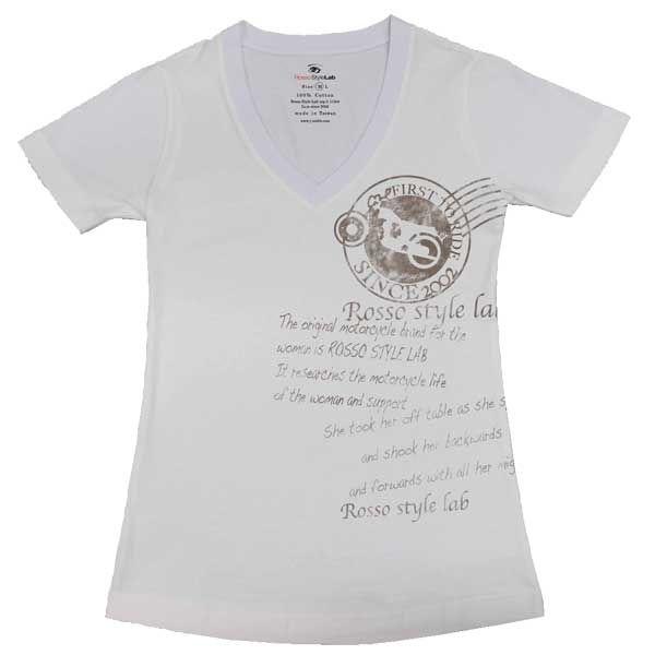 J-AMBLE ROSSO レディースTシャツ レター