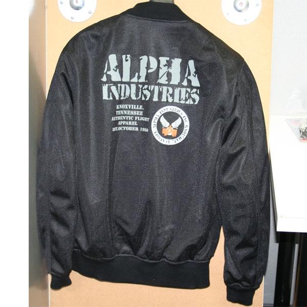 ALPHA MA-1 MC メッシュジャケット