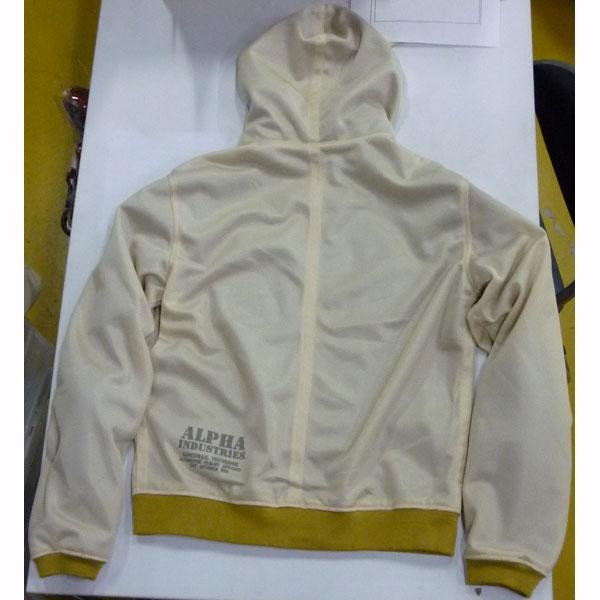 ALPHA ★【特価品】HOODED MC リブジャケット