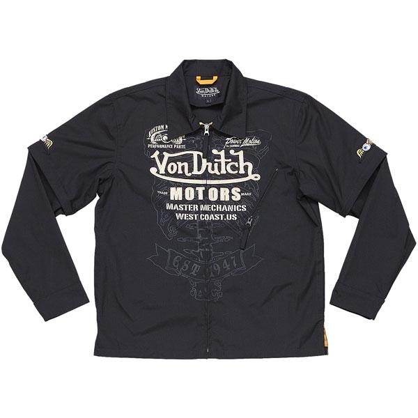 Von Dutch ピットクルーシャツ