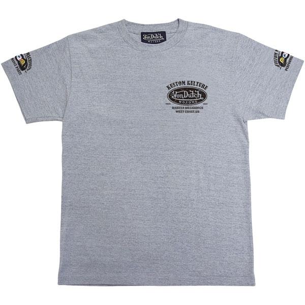 Von Dutch コットンTシャツ