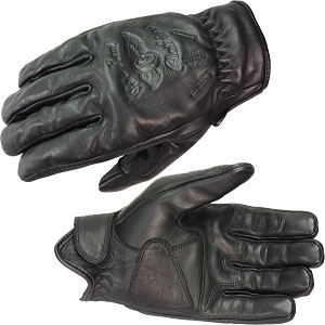 RIDEZ KNUCKLE HEAD SHORTY GLOVES