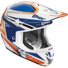THOR 2015年モデル VERGE(ヴァージ)ヘルメット FLEX ネイビー/オレンジ SG規格適合モデル