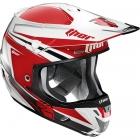 THOR 2015年モデル VERGE(ヴァージ)ヘルメット FLEX レッド/シルバー SG規格適合モデル