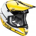 THOR 2015年モデル VERGE(ヴァージ)ヘルメット PRO GP イエロー/ブラック SG規格適合モデル
