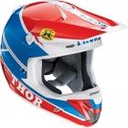 THOR 2015年モデル VERGE(ヴァージ)ヘルメット PRO GP ブルー/レッド SG規格適合モデル