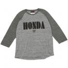 HONDA ラグラン 7部袖 Honda Tシャツ