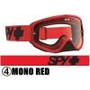 スパイ 2016年モデル WOOT ゴーグル MONO RED