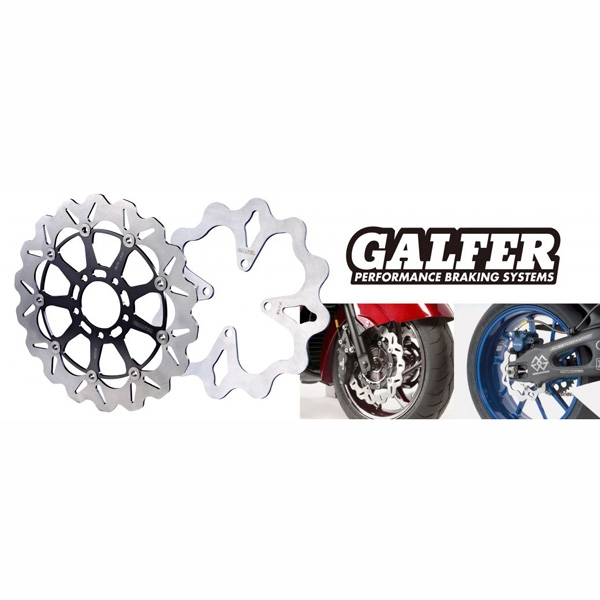 GALFER ウェーブローター [ワンピースタイプ]  リア