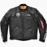 ALPHA ◆送料無料◆ALVA-1601W シングルライダースジャケット