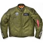 ALVA-1601W シングルライダースジャケット