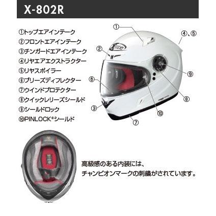 NOLAN 【ウェブショップ限定特価】X-802R MELANDRI [メランドリ]