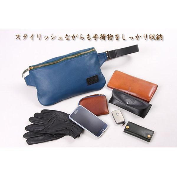 DEGNER LEATHER BODY BAG 【レザーボディーバッグ】