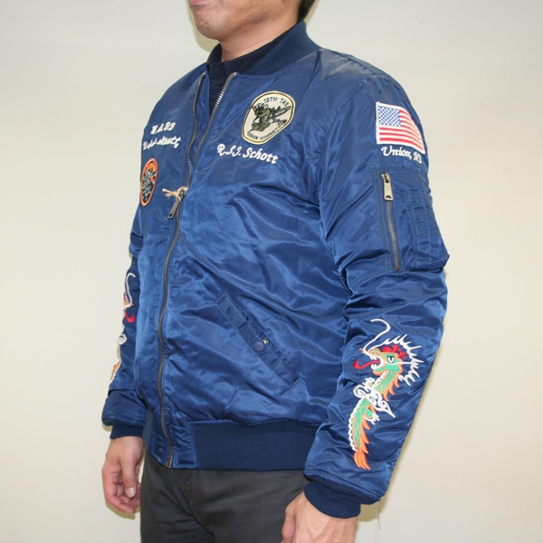 SCHOTT 【webショップ限定特価】SOUVENIR MA-1 USサイズ