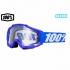 100% 17SP ACCURI ゴーグル REFLEX BLUE