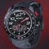 alpinestars TECH WATCH CHRONO BLACK SILICON STRAP
