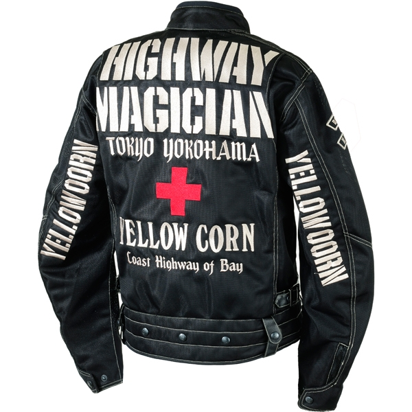 Yellow Corn YB-7105 HIGHWAYMAGICIAN MESH JACKET