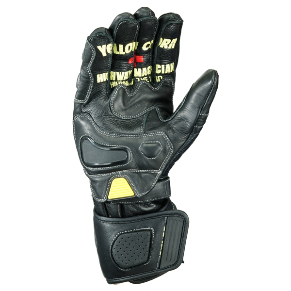 Yellow Corn YG-715R LEATHER RACING GLOVES