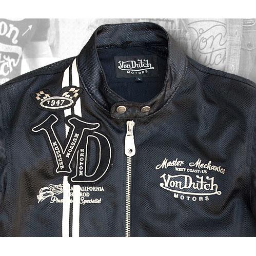Von Dutch レディース VonDutch メッシュジャケット
