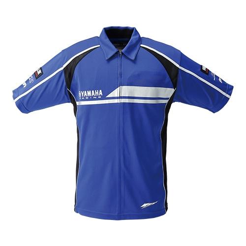 Y'S GEAR YRE11 ヤマハレーシング ジップクールマックスシャツ