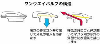 ワンウェイバルブの構造