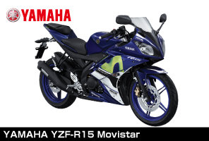 B-Renta試乗車両YAMAHA YZF-R15